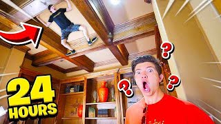 Download SNEAKING INTO PRESTON'S HOUSE FOR 24 HOURS... Video