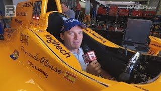 Download Indy 500: Eric Bretzman on Fernando Alonso's Steering Wheel Video
