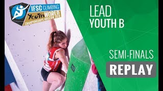 Download IFSC Youth World Championships Moscow 2018 - Lead - Semi-Finals - Youth B Video