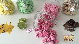Download FRUITY MERINGUE KISSES How To Cook That Ann Reardon Video