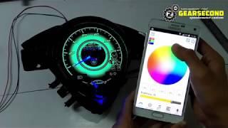 Download Modifikasi Speedometer Honda Beat Old/Karbu Jadi Warna Warni Pakai Android Video