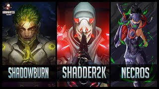 Download ShaDowBurn vs Shadder2k vs Necros - Gods of Genji 😱 | Overwatch Moments Video