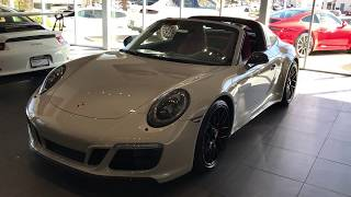 Download 2018 Porsche 911 Targa 4 GTS in Chalk with Kirk Video