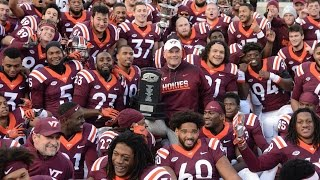 Download 360° video: Hokies accept ACC Coastal Division Championship trophy Video