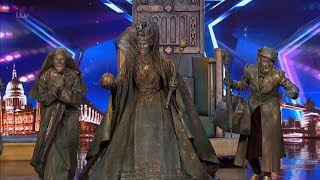 Download Britain's Got Talent 2019 Big Name Statues Surprises Full Audition S13E06 Video