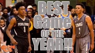 Download Trevon Duval (IMG) vs. Colin Sexton (Pebblebrook) Best Game of the Year | Holiday Hoopsgiving Video