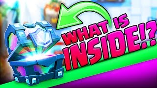 Download WHAT IS INSIDE THIS LEGENDARY CHEST! • Clash Royale! Video