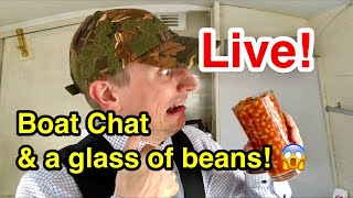 Download Live Boat Q&A (and a refreshing glass of beans!) (which I may not drink!) Video