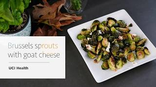 Download Roasted Brussels sprouts with goat cheese and walnuts Video