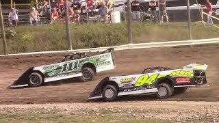 Download Topless RUSH Crate Late Model Heat Four | Genesee Speedway | 9-17-17 Video
