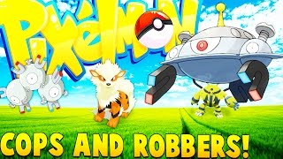 Download POKEMON COPS AND ROBBERS! - Minecraft Pixelmon Mod Video