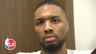 Download 'It cost us the f- game!' - Damian Lillard responds to critical no-call vs. Jazz | NBA Sound Video