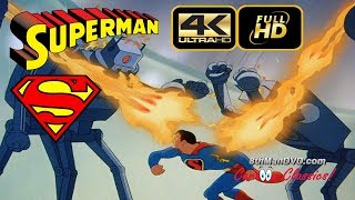 Download SUPERMAN CARTOON: The Mechanical Monsters (1941) (Remastered) [ULTRA HD 4K Cartoons] Video