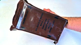 Download Opening 25 Year Old US MRE Video