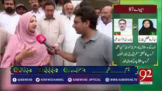 Download PMLN Saira Afzal Tarar insults imran khan very badly | 14 July 2018 | 92NewsHD Video