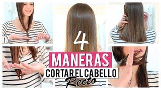 Download Cómo cortar el cabello recto | 4 opciones Video