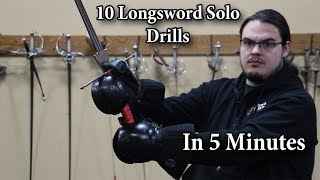 Download 10 Longsword Solo Drills in 5 minutes Video