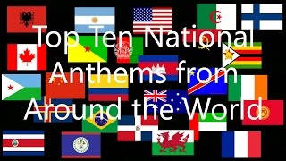 Download Top 10 National Anthems From Around the World Video
