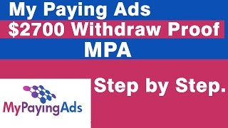 Download My paying Ads $2700 Withdrawl LIVE. Video
