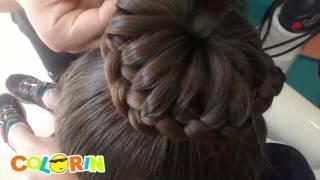 Download Peinados con Trenzas en corona y cola de caballo Video