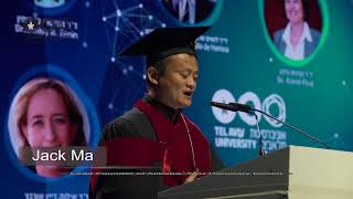 Download Jack Ma on Israel at the Tel Aviv University Honorary Degrees Ceremony Video