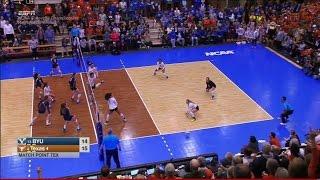 Download BYU v Texas, 12/09/2016 Women's Volleyball Regional Semifinal Match Video