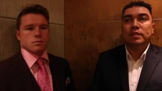 Download SAUL 'CANELO' ALVAREZ TALKS LIAM SMITH, WHY GGG FIGHT DIDN'T HAPPEN, & GOLOVKIN v BROOK PREDICTION Video