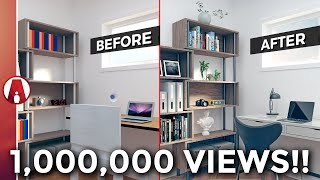 Download 10 Tips for a REALISTIC Interior Rendering | Vray 3.4 for Sketchup Video