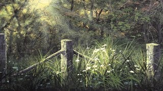 Download Fence & Flowers | Paint with Kevin® Video