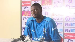Download We have taken heart from our batting show in the first game - Jason Holder Video