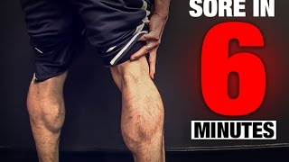 Download Calf Workout (SORE IN 6 MINUTES!) Video