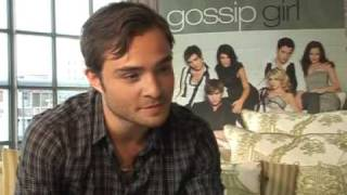 Download Gossip Girl star Ed Westwick on his accent plus Alexa Chung Video