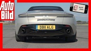 Download Quickshot: Aston Martin DB11 Sound (2018) Video