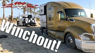 Download Tractor Trailer Jacknifed And Stuck Video