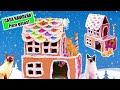 Download Les HAGO una CASA a MIS 3 GATOS !! 🏠 // Manualidad Navideña para Gatos Video