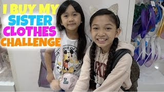 Download I BUY MY SISTER CLOTHES CHALLENGE Video