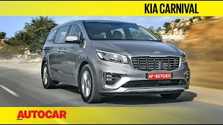 Download Kia Carnival Review | First Drive | Autocar India Video