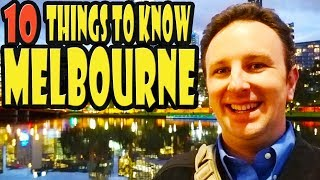 Download Melbourne Travel Tips: 10 Things to Know Before You Go to Melbourne Australia Video
