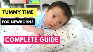 Download Tummy Time for Newborns Video