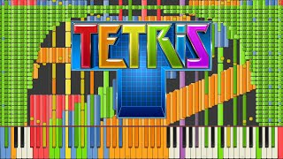Download [Black MIDI] Synthesia – Tetris Theme A [Final] Impossible Remix 90,000 notes ~ Kanade Tachibana Video