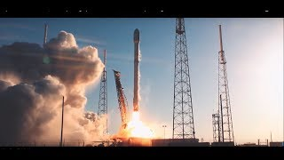Download Behind-the-scenes video of NASA's TESS SpaceX Launch, multiple long form Falcon liftoff views Video