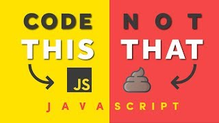 Download JavaScript Pro Tips - Code This, NOT That Video
