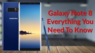Download Galaxy Note 8 Everything You Need To Know Video