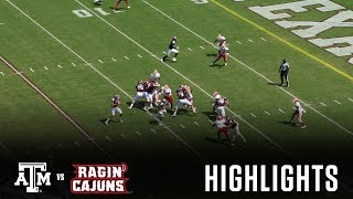 Download Football Highlights | Texas A&M vs. Louisiana Video