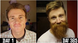 Download ONE YEAR BEARD TIME LAPSE | DAY 1 to 365 | Growing A BEARD for 1 YEAR | Yeard Journey Video