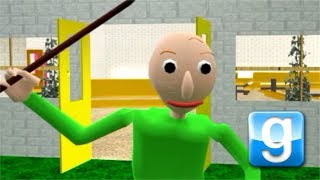 Download Garry's Mod Map + ENDING! Baldi's Basics in Education and Learning Video