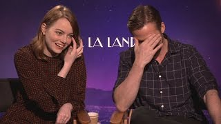Download Emma Stone teases Ryan Gosling about an audition Video