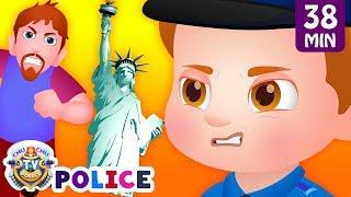 Download ChuChu TV Police Save the New York Souvenir Kids Gifts from Bad Guys | ChuChu TV Kids Videos Video