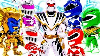 Download Power Rangers Squad Dino Thunder Defeat Monsters Squad ! GO GO GO~ #Toymarvel Video