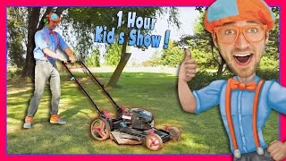 Download Blippi Videos for Children | Lawn Mower and More! Video